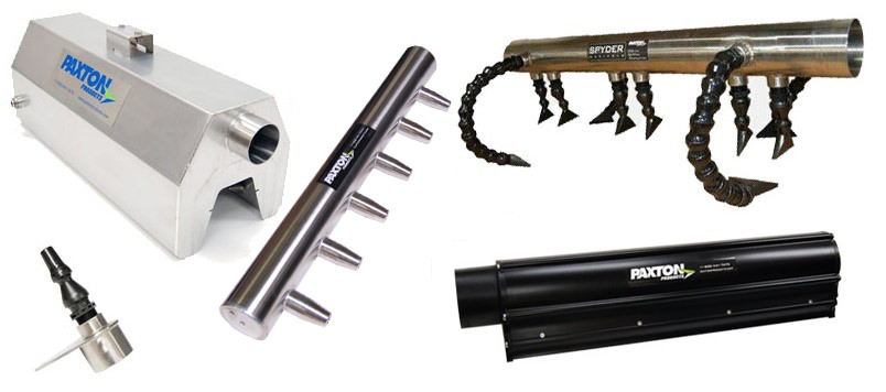 Blower Powered Air Knives : Energy efficient centrifugal blowers air knives drying