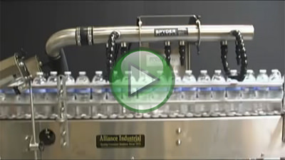 Bottle rinser video
