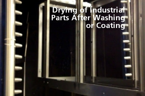 Drying Industrial Parts