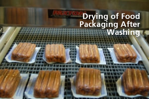 Drying Packaged Food