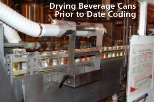 Drying Beverage Cans